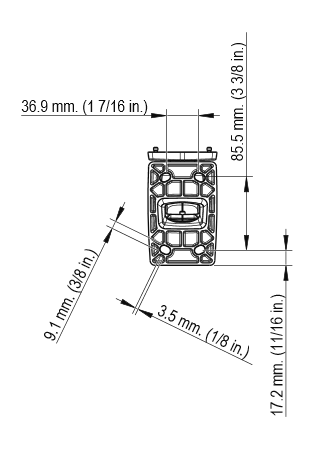 AXIS M1124-E 図解3