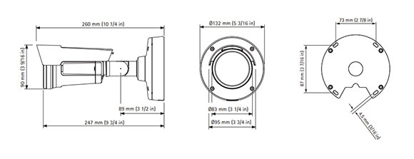 AXIS P1405-LE_MkⅡ 図解1
