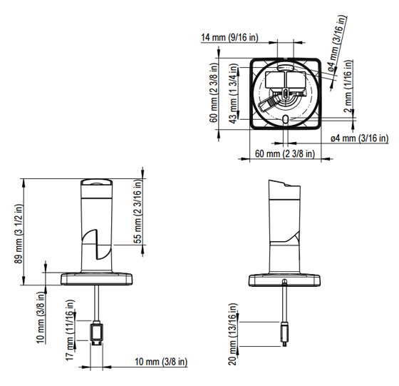 AXIS F1004 バレット 図解1