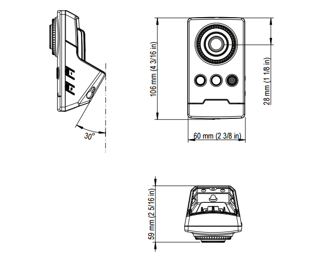 AXIS M1065-L 図解1