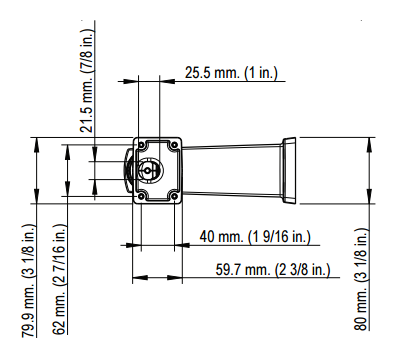 AXIS P1125-E 図解5