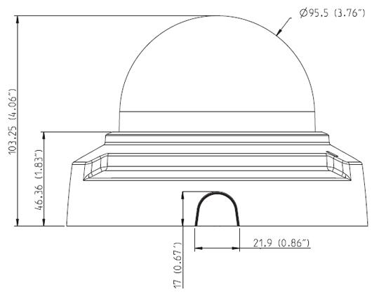 AXIS P3367-V 図解1