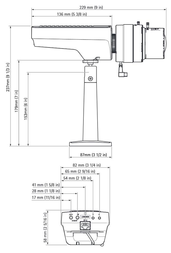 AXIS Q1635 特長1