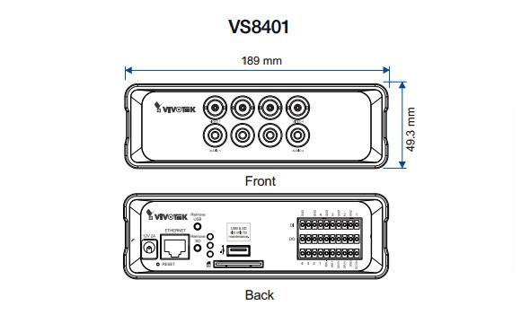 VIVOTEK VS8401 図解2
