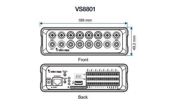 VIVOTEK VS8801 図解3
