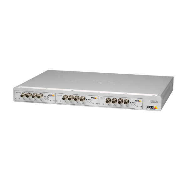 AXIS 291 1U ビデオサーバーラック