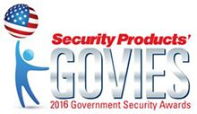Security Products Magazine 2016 Govies賞