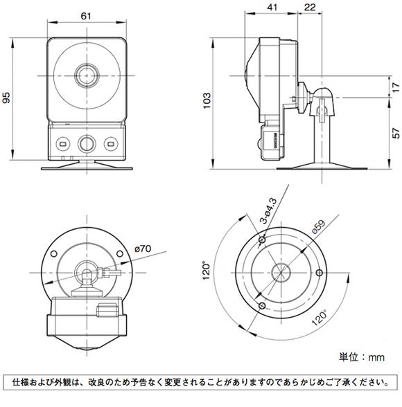 SONY SNC-CX600 図解1