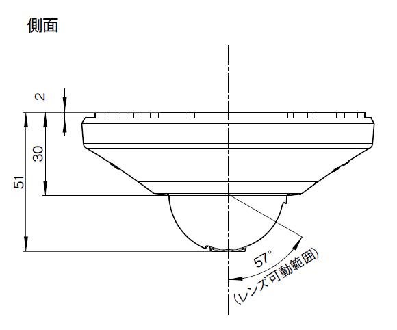 SONY SNC-DH110 図解1