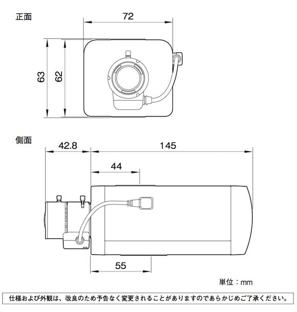SONY SNC-EB600 図解1