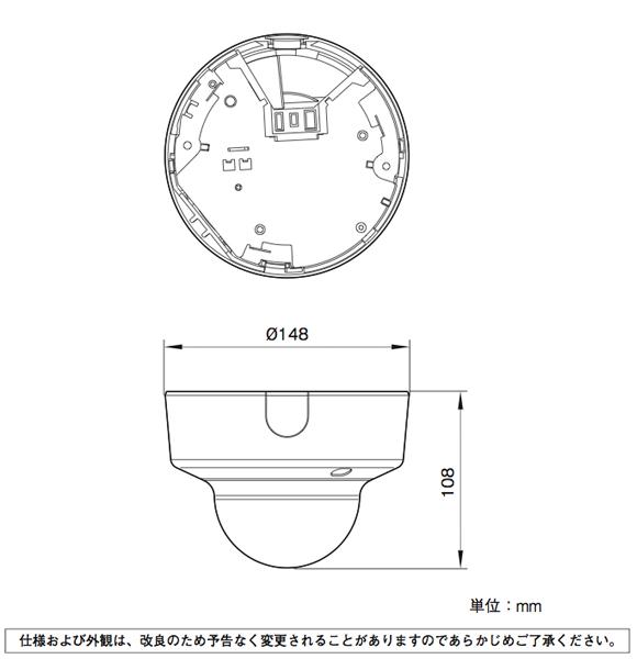 SONY SNC-EM600 図解1
