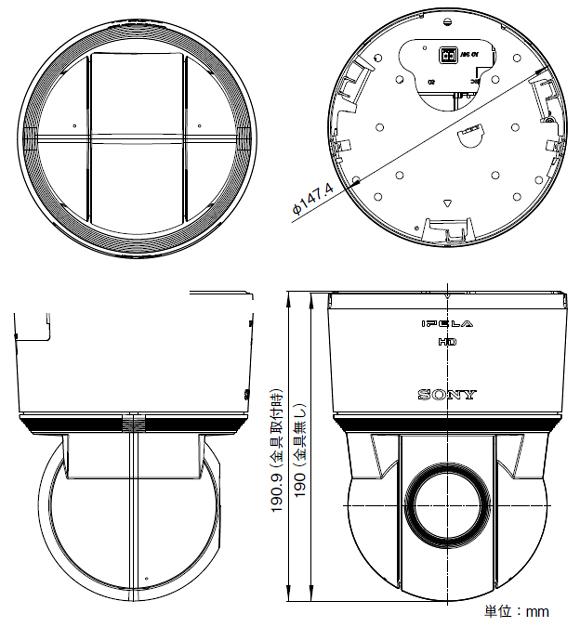 SONY SNC-EP550 図解1