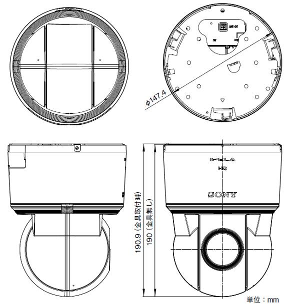 SONY SNC-EP580 図解1