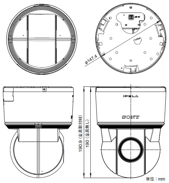 SONY SNC-ER520 図解1