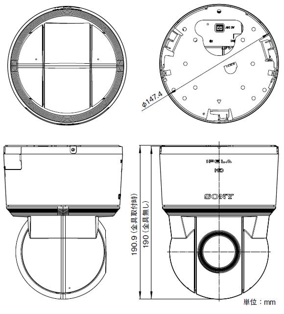 SONY SNC-ER550 図解1
