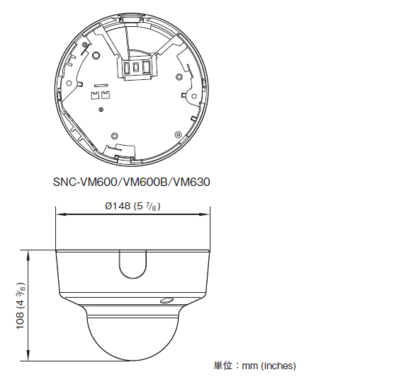SONY SNC-VM600 図解1
