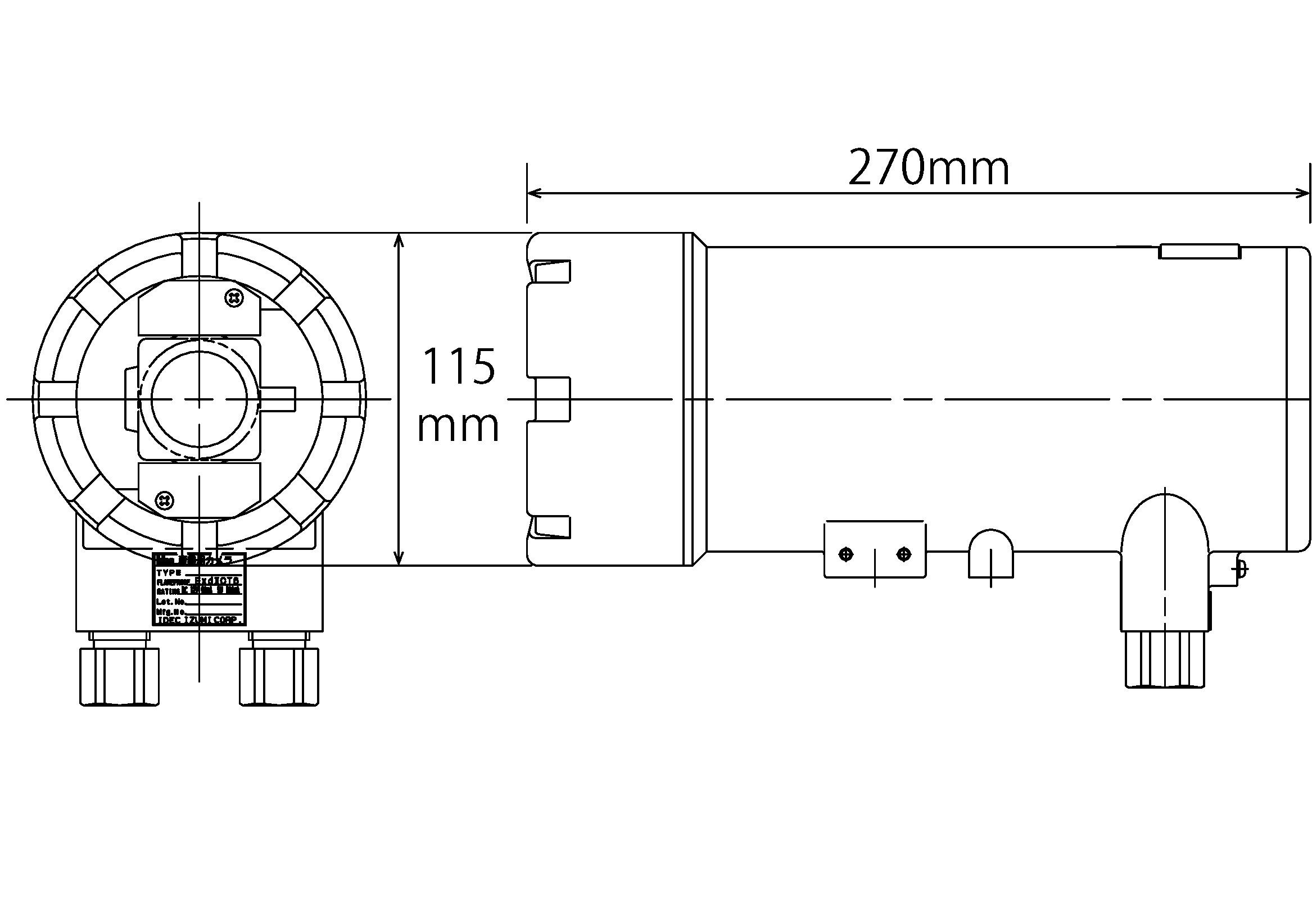 XD-500IP-5M 図解1
