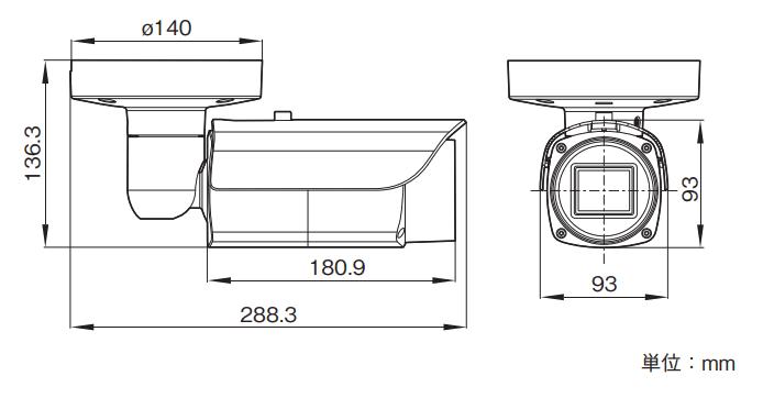 SNC-VB642D 図解1