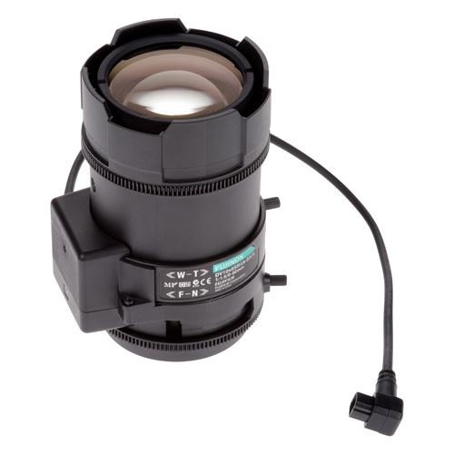 AXIS Fujinon Varifocal Lens 8-80 mm、DCアイリス