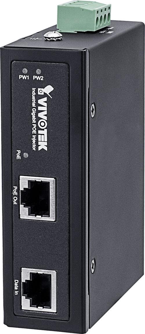 VIVOTEK AW-IHT-0100 産業用1xGE PoEインジェクター