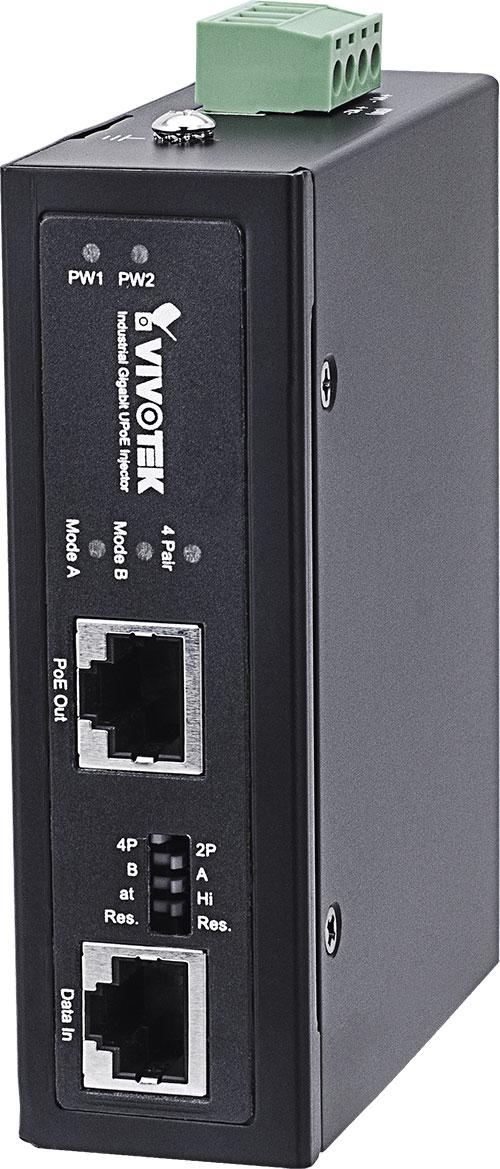VIVOTEK AW-IHU-0100 産業用1xGE 60W UPoEインジェクター