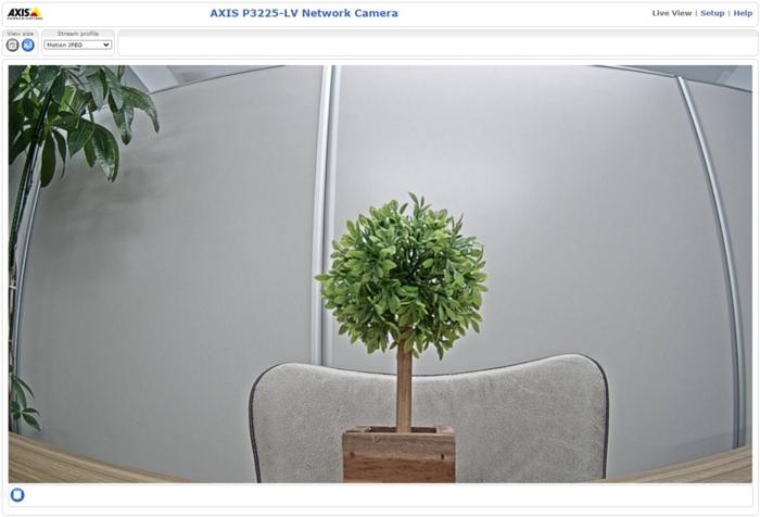 AXISネットワークカメラ 映像反転の対処手順3